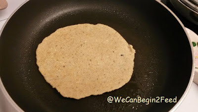 Quick Oatflour Flatbread