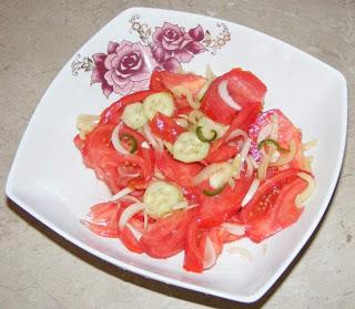 Salata de rosii reteta,