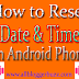 How To Set Date & Time on Android Phone / Smartphone