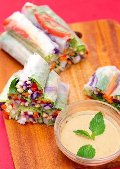 Vegan Spring Rolls Recipe: A Treat To Share