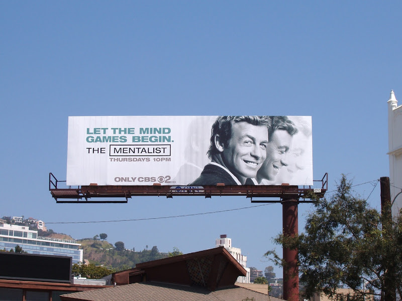 The Mentalist season 1 billboard