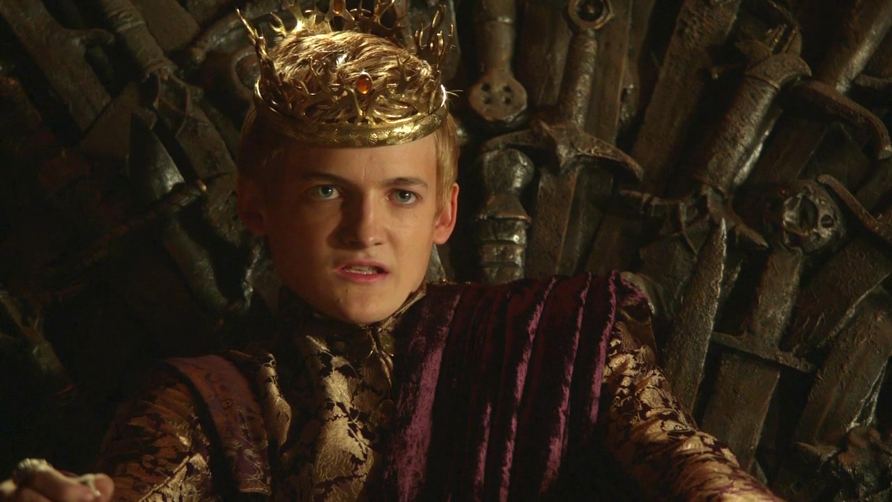 the not so impartial review game of thrones joffrey is officially a psychopath. Black Bedroom Furniture Sets. Home Design Ideas