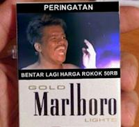 Harga Rokok Naik Yang Penting Harga Jablay Tidak Naik