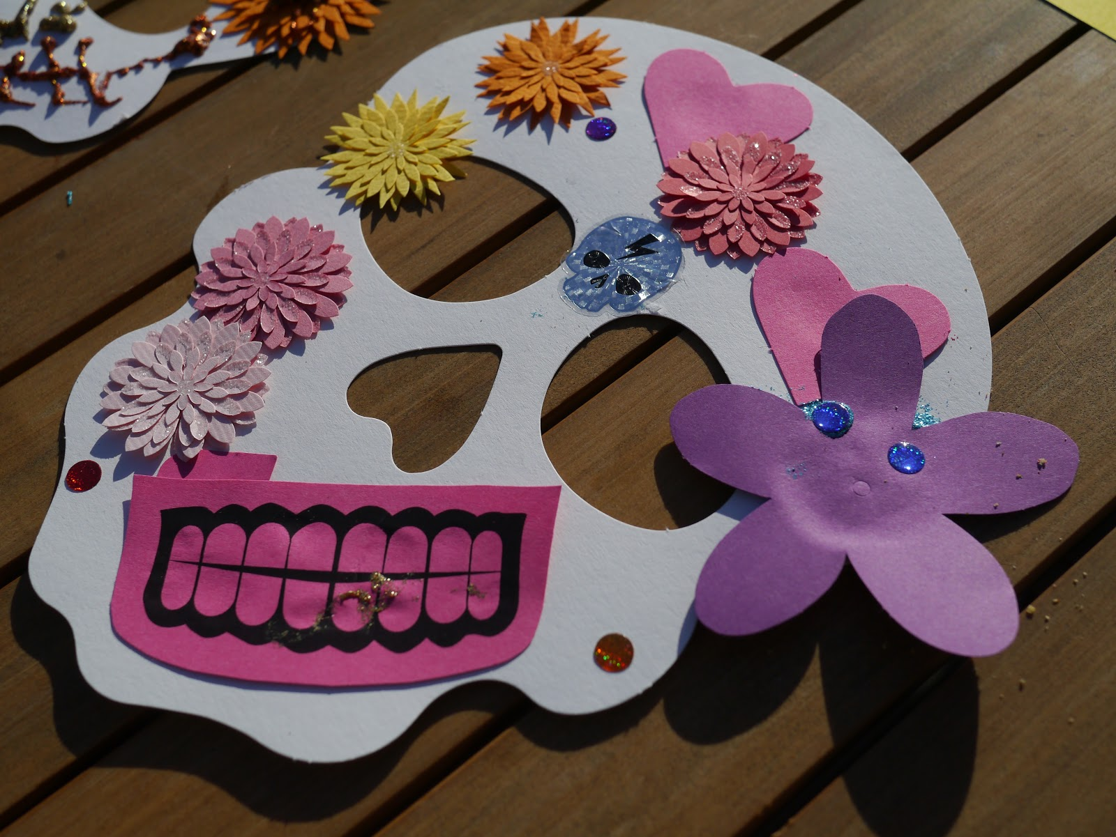 little hiccups sugar skull masks for day of the dead