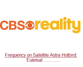 Frequency CBS Reality +1 and CBS Reality broadcasting for