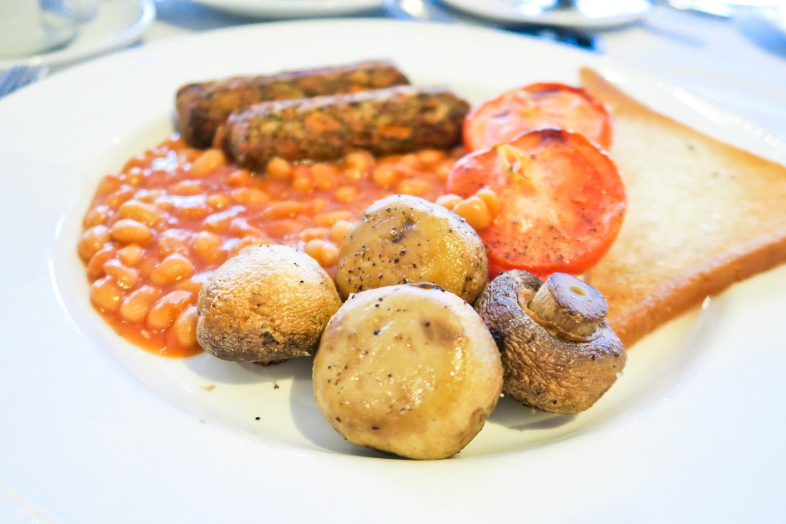 vegetarian cooked breakfast moorland garden hotel