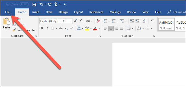 Convertire un documento in PDF usando Word