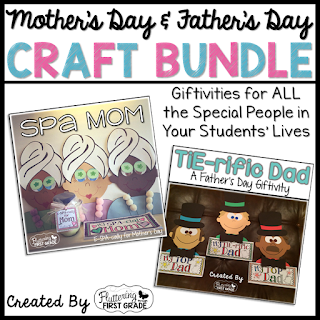 Mother's and Father's Day crafts for the classroom