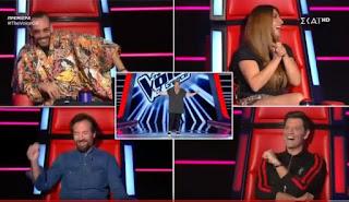 "The Voice: Τραγούδησε το ""Bella Ciao"" και γύρισαν όλοι... εκτός απ' τον Ρουβά"