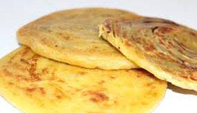 Resep praktis (mudah) roti maryam spesial (istimewa) khas Timur tengah enak, gurih