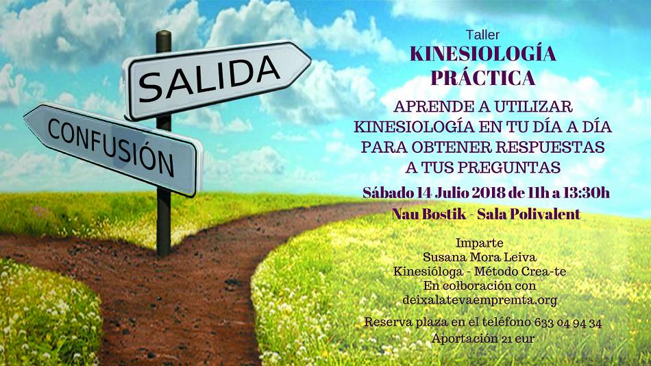 Taller de Kinesiología Práctica, por Susana Mora 14 de Julio en la Nau Bostik