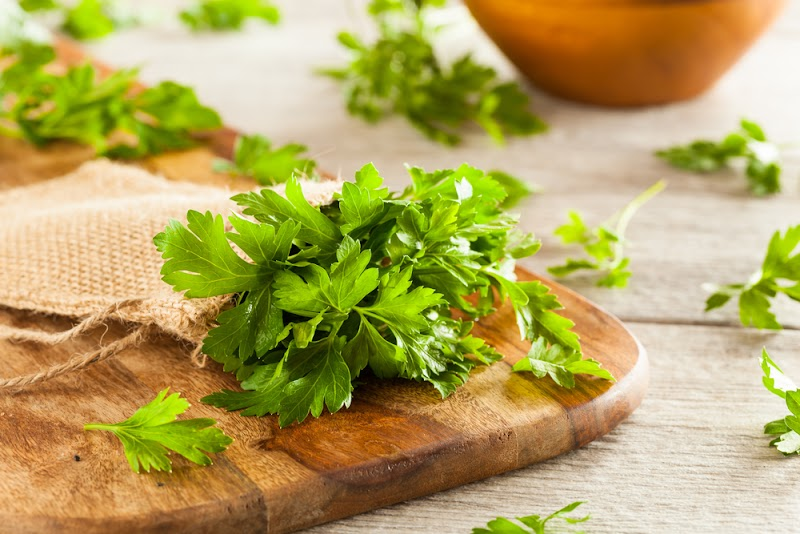 Parsley leaves; the one spice with numerous nutritional benefits