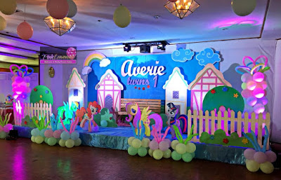 Little Pony Stage Decoration