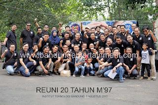 alumni 97 teknik mesin itb, reuni m97 itb, hmm itb, event organizer bandung, bandung entertainment, eo reuni di bandung