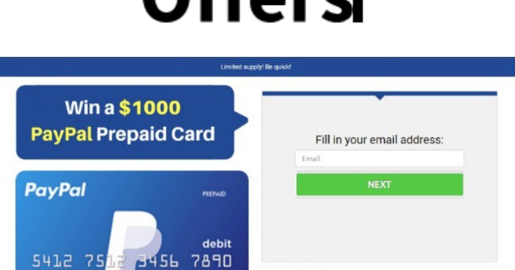 Get $1000 to Spend with a Paypal Prepaid