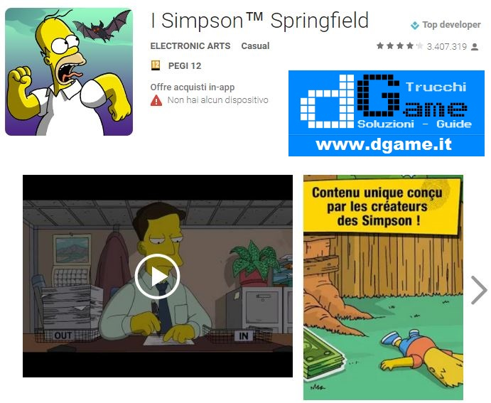 Springfield con i trucchi scaricare