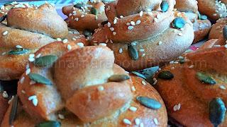 Рецепта за пълнозърнести хлебчета