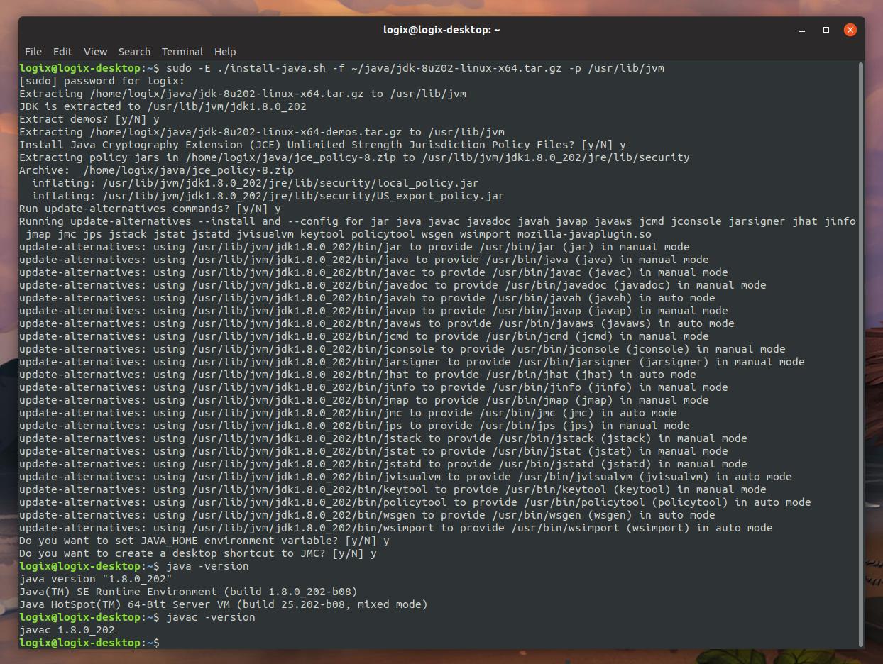 install java 7 ubuntu server 16.04