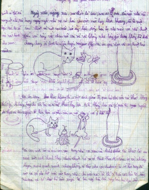 Vẽ vời 12: Một câu chuyện thú vị giữa chuột và mèo