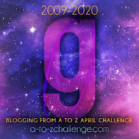 #AtoZChallenge 2020 Blogging from A to Z Challenge letter G