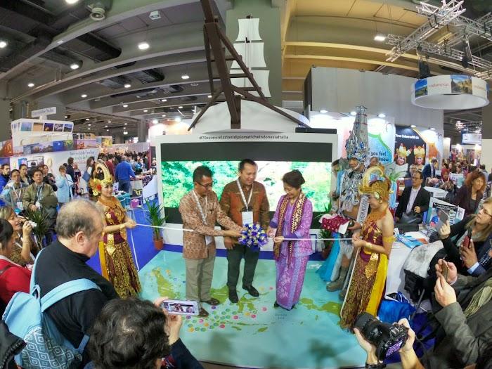 Gubernur Ridho Promo Wisata Lampung di BIT Milano Italia, Targetkan 300 Ribu Wisatawan pada 2019 Optimistis Tercapai