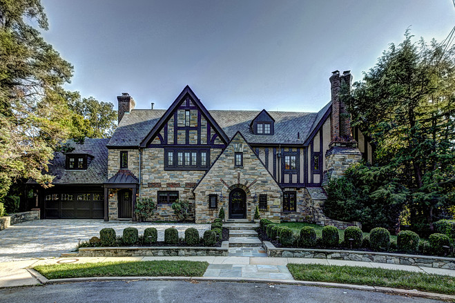 When the design elements come together on a large scale the results can be spectacular here are some amazing examples of the very large tudor style house