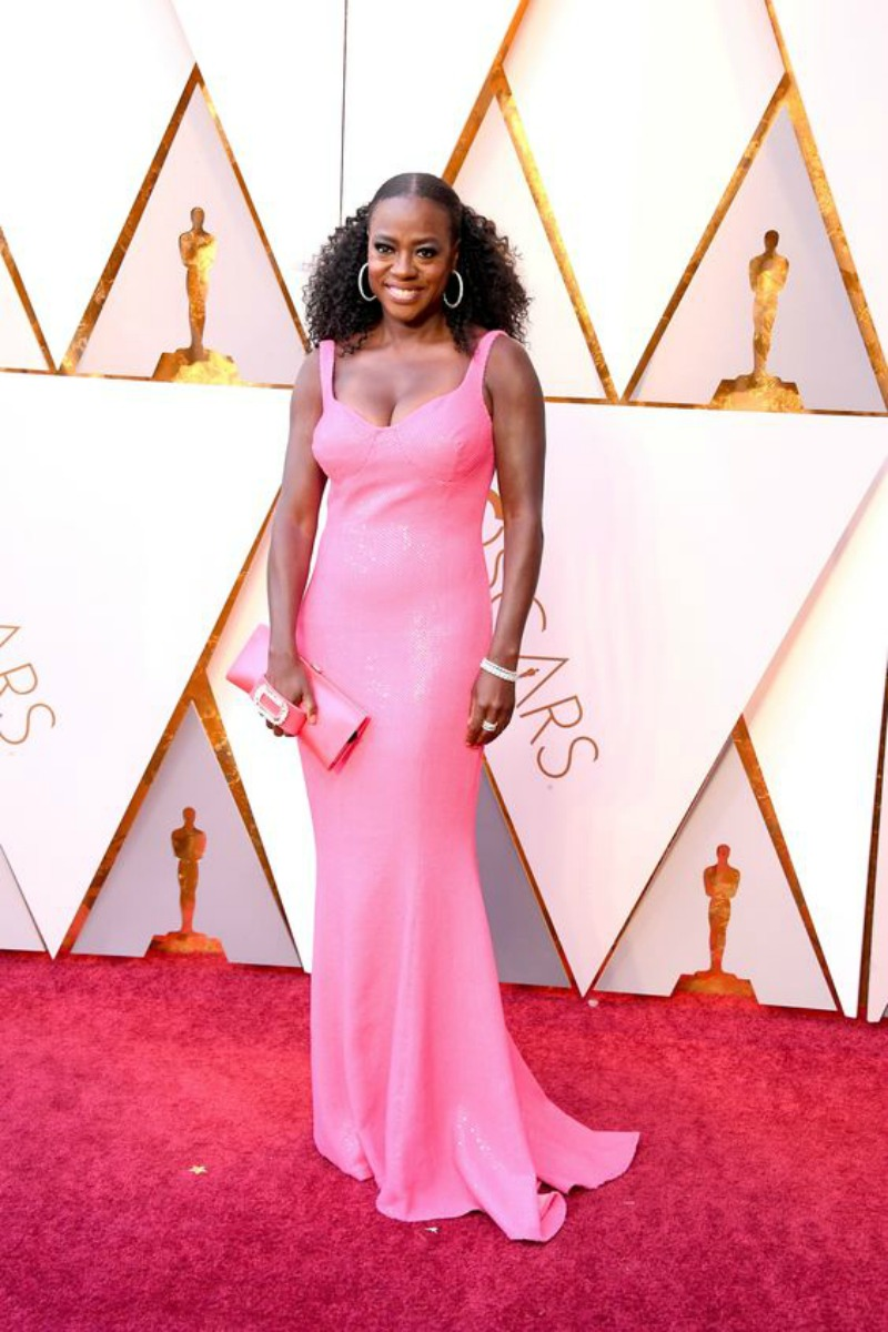 The best looks from the Oscars 2018 Viola Davis