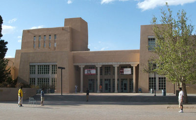 zimmerman library, university of new mexico