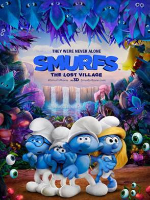 Smurfs: The Lost Village character appearance