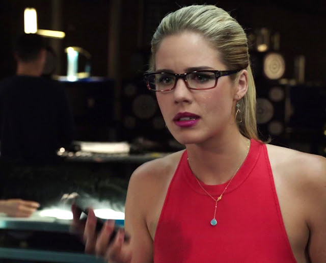 Felicity Smoak Triangle Earrings