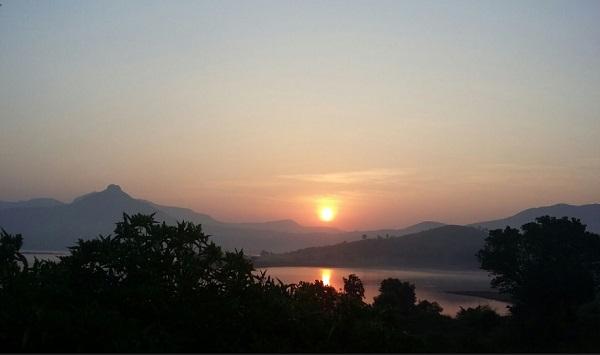 Nisha cam -pawna lake