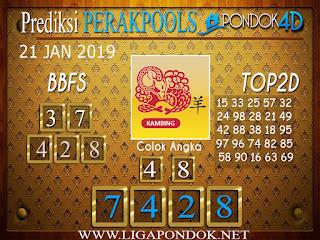 Prediksi Togel PERAK PONDOK4D 21 JANUARI 2019