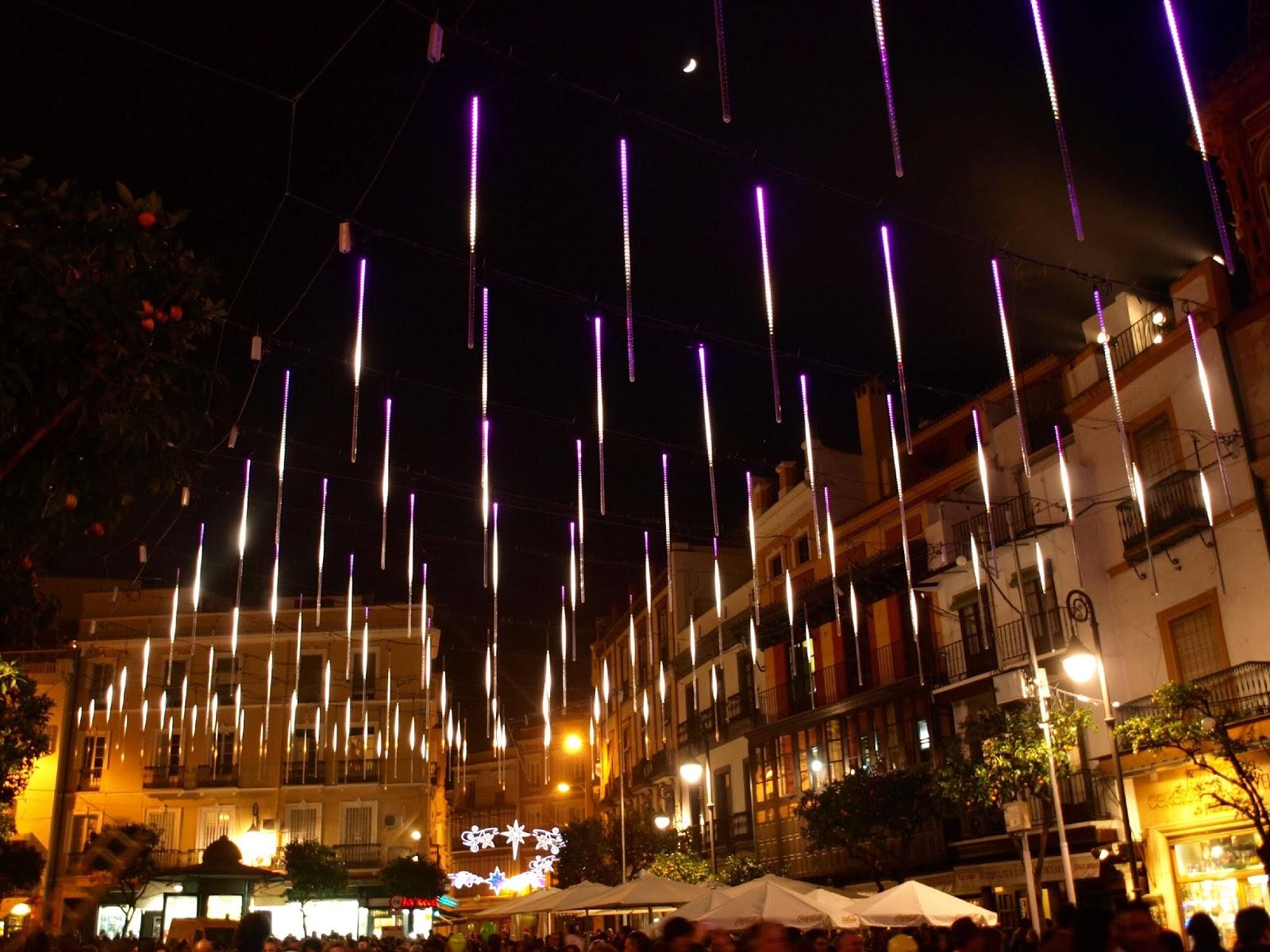 Sevilla Daily Photo Iluminacin navidea en la Plaza del