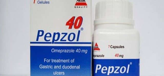سعر كبسولات بيبزول 40 Pepzol للحموضه