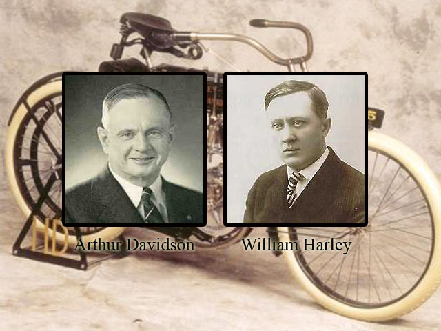 William Harley And Arthur Davidson: Asemik: Harley Davidson 2011