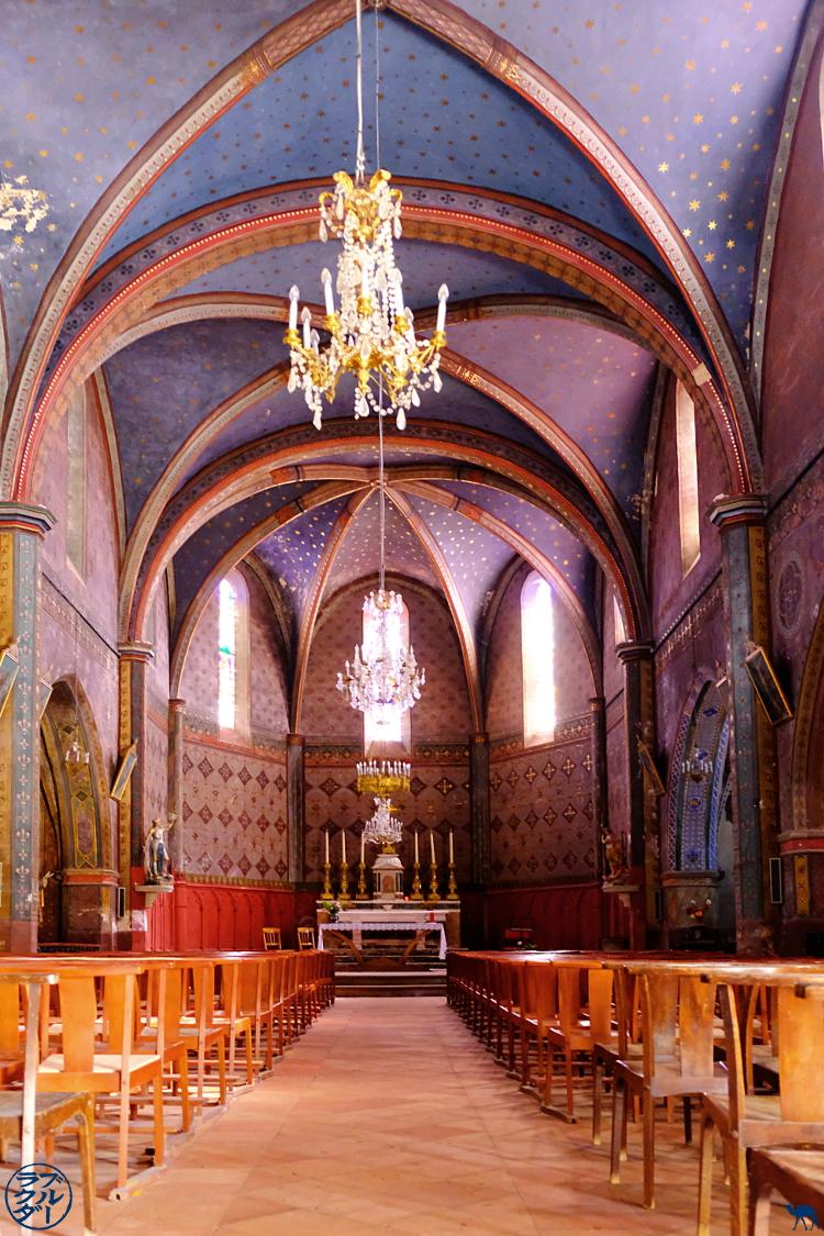 Le Chameau Bleu - Blog Voyage Vélo Le Canal des 2 mers - Eglise de Saint Porquier Tarn et Garonne