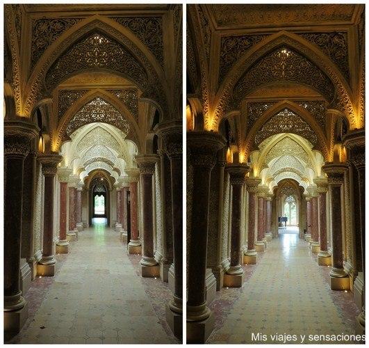 Galería del Palacio de Monserrate, Sintra, Portugal
