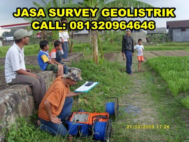 jasa survey geolistrik terbaik dan termurah