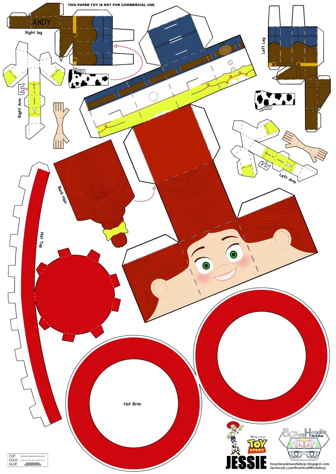 Cartoon House Inside View: Boxes-Header Workshop: Jessie Cow-Girl~