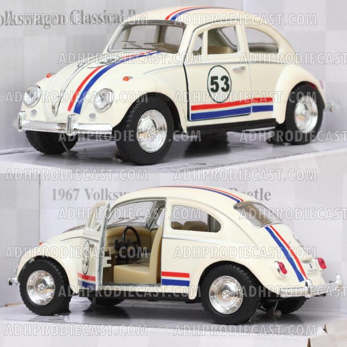 Miniatur Mobil VW Beetle / Kodok (Herbie-32K)