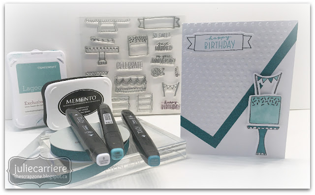 CTMH Celebrate with Cake - May stamp of the month