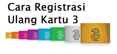 Cara Registrasi Ulang Kartu 3