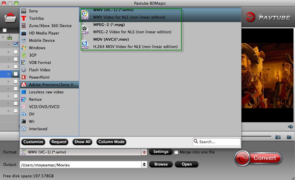 How to import DVD to Adobe Premiere Pro CS5/CS6 on Mac-Enjoy