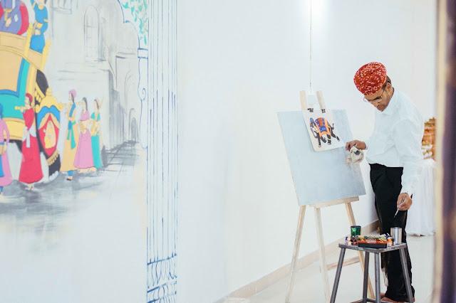 Experience Shekhawati 'Fresco Fine Art' festival at Kesariya