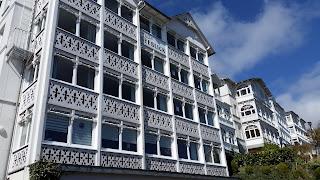 Bäderarchitektur in der Sassnitzer Altstadt
