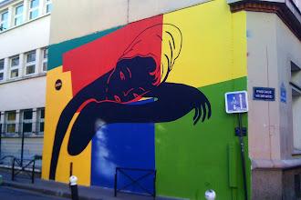 Sunday Street Art : FKDL - passage Hébrard  / rue Saint Maur - Paris 10