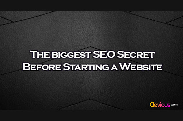 The Biggest SEO Secret - Clevious
