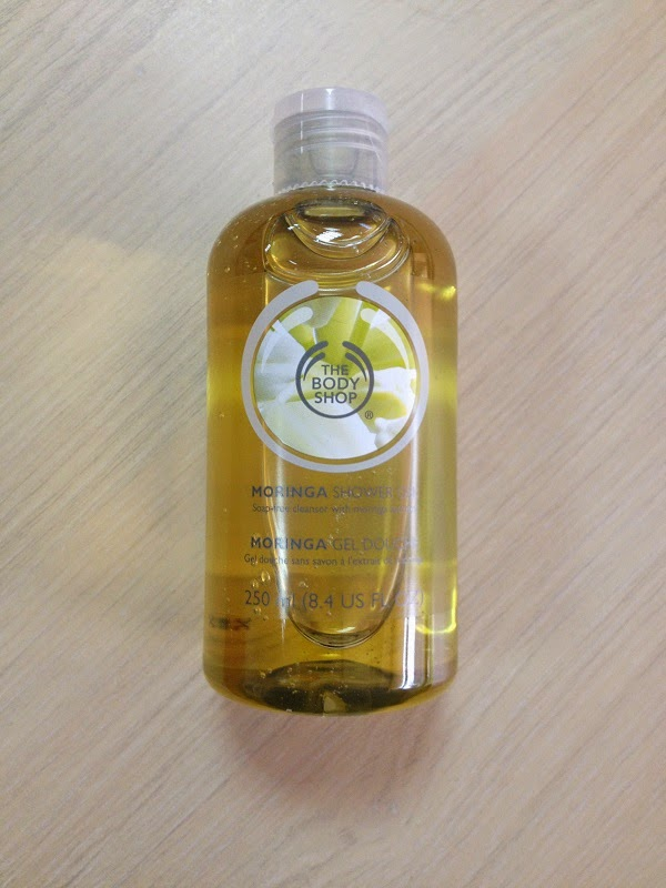 The Body Shop Moringa Shower Gel - review - Monica\'s beauty in ...