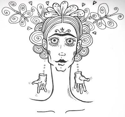 """Z cyklu """"co by było gdyby"""", czyli dziś sobie pogdybamy. Frida Kahlo – czy byłaby taka sławna, gdyby była nie(do)słysząca?…"""