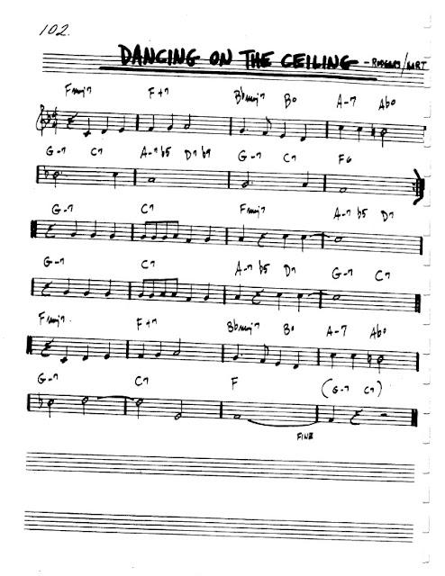 Partitura Flauta Rodgers and Hart
